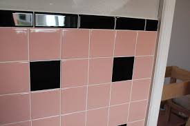 Pink Tile Bathroom Bathroom Tiles Pink Interior Design