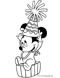 baby mickey mouse and friends coloring pages many interesting cliparts