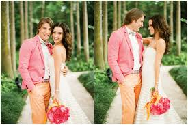 orange and pink are you bold enough for this wedding color