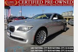 san diego bmw used cars used bmw 7 series for sale in san diego ca edmunds