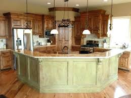 Kitchen Island And Bar Open Kitchen With Island Bar Kzio Co