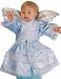 Infant Bunting Halloween Costumes Baby Bunting Halloween Costumes Deluxe Blue Angel Baby Bunting