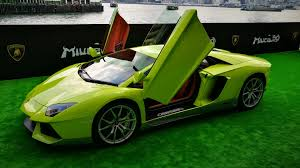 Green Lamborghini Aventador - the only lamborghini aventador miura homage for hong kong costs 1