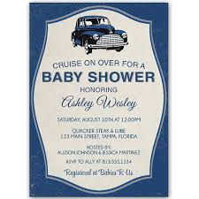 baby shower sports invitations vintage car baby shower invitation car baby showers shower