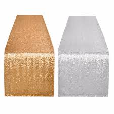 fabric for table runners wedding 10pcs light gold sequin fabric table runner wedding table runner