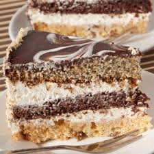 triple tasty three layered cake recipe cakes pinterest