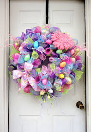 Easter Decorations Wreath by 118 Best Easter Spring Wreaths Door Hangers U0026 Decorations Images