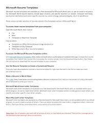 Create Free Printable Resume Free Basic Resume Templates Microsoft Word Free Resume Example