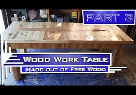 p j galati u2013 woodwork table part 3 episode 003c free wood table