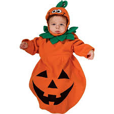 Boys Pumpkin Halloween Costume Amazon Rubie U0027s Costume Baby Bunting Pumpkin Costume 1 9