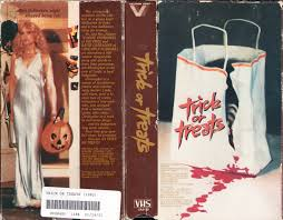 the horrors of halloween trick or treats 1982 newspaper ad vhs