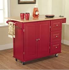 Amazoncom TMS Kitchen Cart And Island This Portable Small - Kitchen cart table