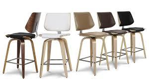 tabouret de cuisine 4 pieds chaise cuisine hauteur assise 65 cm maison design bahbe com