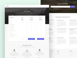 pricing table website template freebie download sketch resource