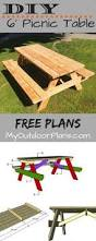 Building Plans For Picnic Table by Diy Building Plans For A Picnic Table Diy Pinterest Building