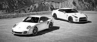 vs porsche 911 turbo pose dubai vs porsche 911 turbo s vs nissan gtr