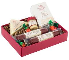 hillshire farms gift basket hickory farms hostess gift food gift baskets
