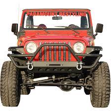 jeep yj winch 87 06 jeep wrangler yj tj rock crawler tubular stinger