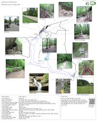 Michigan State Parks Map by Hocking Hills State Park Old Mans Cave To Cedar Falls