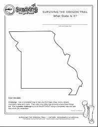 missouri map coloring pages remarkable missouri state worksheet with where the things are
