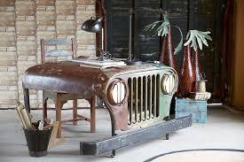 Schreibtisch Metall Vintage Schreibtisch Metall Holz Als Jeep
