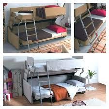 canape lit superpose lit mezzanine 2 places avec canape canape lit superpose photo lit