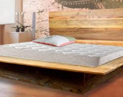 How To Make A Platform Bed Out Of Pallets by Pallet Bed Etsy