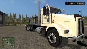 kenworth t800 truck wmf kenworth t800 hooklift v1 0 0 0 truck farming simulator 2017