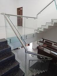 Handrail Systems Suppliers Framless Glass Railing System Kelco Industries Manufacturer In