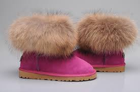 ugg shoes wholesale uggs slippers ugg fox fur mini boots 5854 ugg moccasins ugg