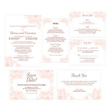 classic floral wedding invitation do it yourself printable template