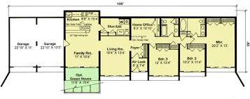 berm homes plans earth berm design 11389g architectural designs house plans