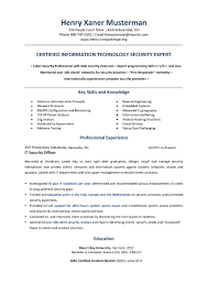 Job Resume And Cover Letter Examples by Computer Security Expert Cover Letter General Objective For Resume