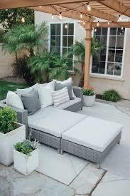 Patio Furniture Sale Backyard Reveal Huge Outdoor Furniture Sale Mint Arrow