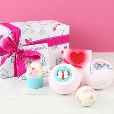 Bath Gift Sets Bomb Cosmetics U0027jar Of Hearts U0027 Bath Gift Set Lisa Angel