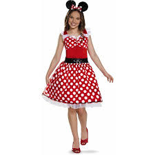 minnie mouse costume minnie mouse tween costume walmart