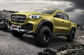 mercedes concept car navara reloaded mercedes concept x class pick up revealed by car