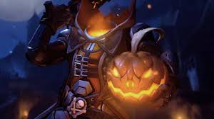 reaper pumpkin halloween screensaver overwatch youtube