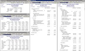 Quickbooks Chart Of Accounts Excel Template Bookkeeping For Contractors