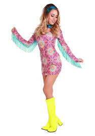 Halloween 70s Costumes Women U0027s Summer Love Hippie Costume