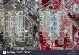 Dallas Suburbs Map by Aerial Map View Above Dallas Fort Worth Airport Dfw Irving Texas