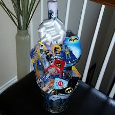 filled easter baskets boys batman pre filled easter basket gift dccomics justiceleague