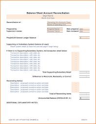 Balance Sheet Account Reconciliation Template Excel by Balance Sheet Reconciliation Template Authorization Letter Pdf