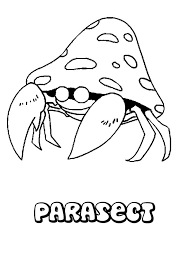 parasect coloring pages hellokids com