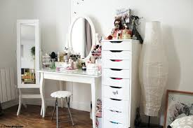 grand miroir chambre grand miroir chambre room tour ma coiffeuse mon coin up et