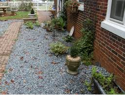 decor u0026 tips front yard with pea gravel and gravel walkway also