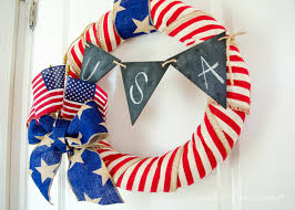 4th of july wreaths craftaholics anonymous diy 4th of july wreath tutorial