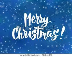 dark blue night snow merry christmas stock vector 512214178