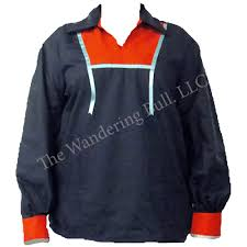 ribbon shirt american micmac style ribbon shirt blue w wandering bull