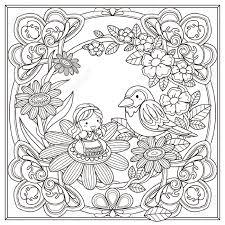 papier peint a colorier motif noir et blanc pour le livre de coloriage pour les adultes
